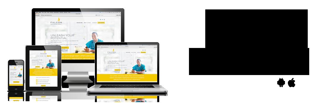 aplicativos e websites mobile