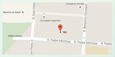 Rua Padre Montoya 307 Foz do Iguaçu - Paraná, Brasil